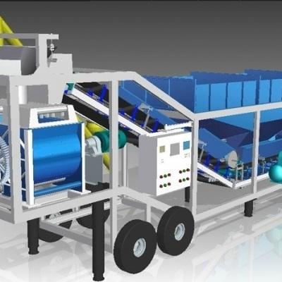 BM Engineering Mobile Concrete Plant