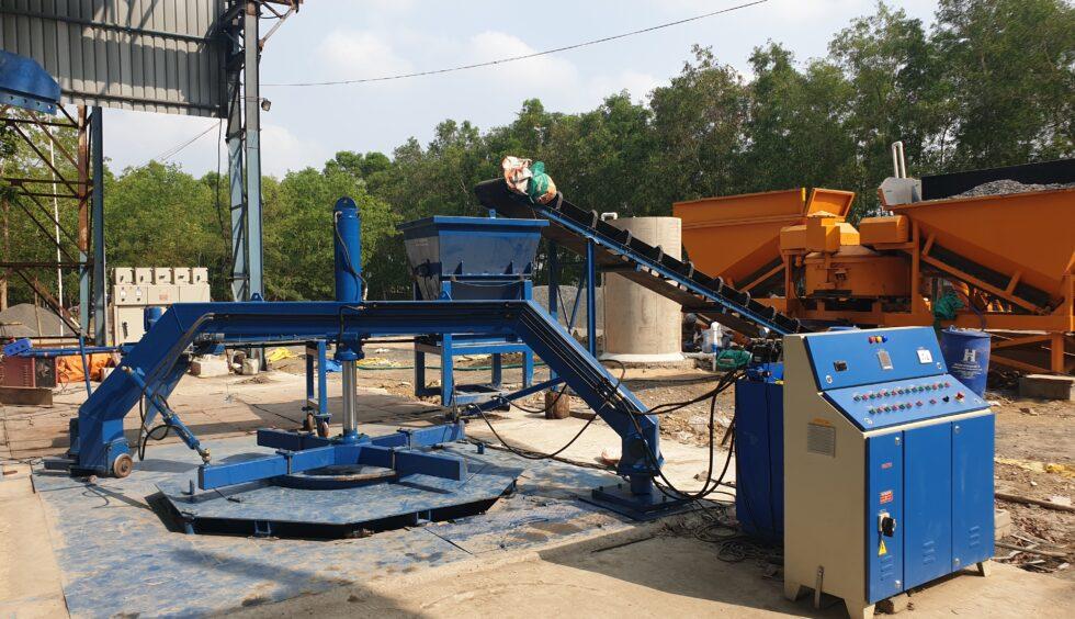 Automatic Vertical Concrete Pipe Making Machine