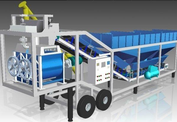 BM Engineering Mobile concrete plant - 3